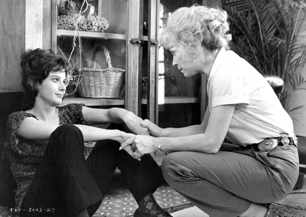 Scene from Terms of Endearment