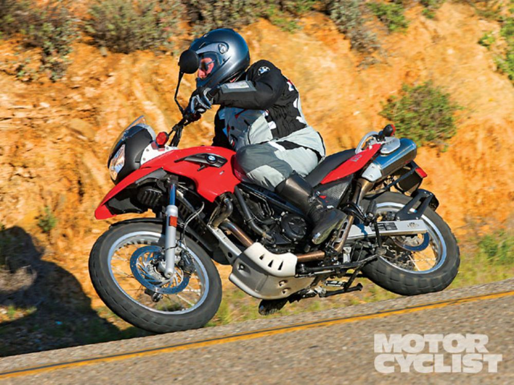 A BMW F650GS or G650GS is a great beginner bike if you want the ability to travel on road and off road.