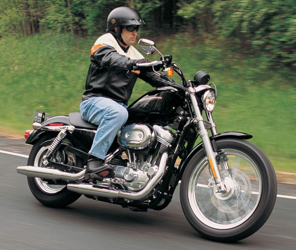 Harley-Davidson Sporters are beginner friendly because of their ergonomics and broad power curve.