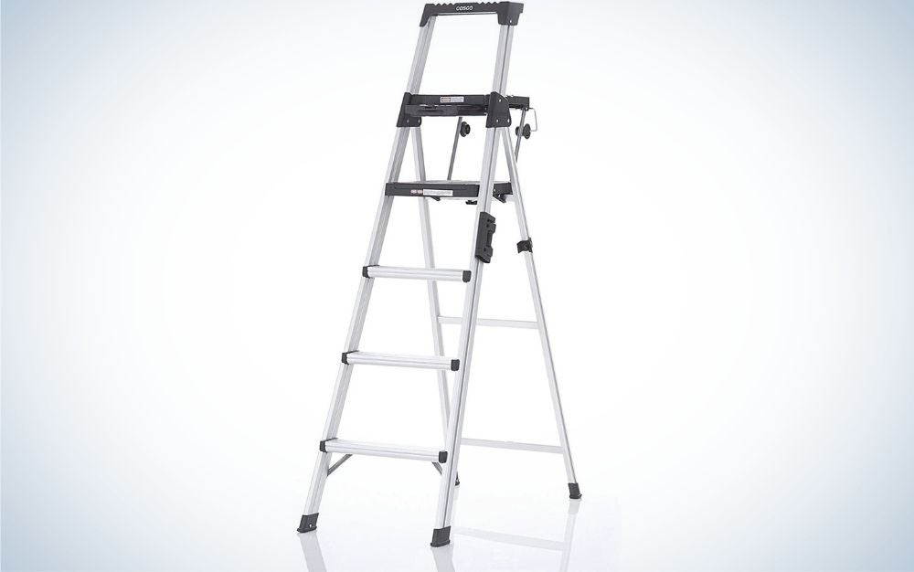 The Cosco Signature 6ft Step Ladder is the best for DIY and decorating.