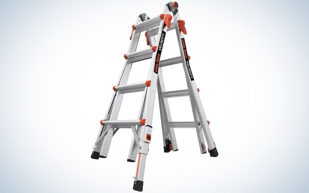 The Little Giant Ladders Velocity Ladder is the most versatile.