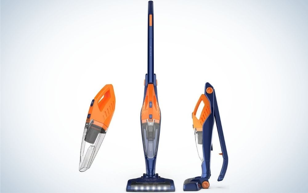 The Cordless Vacuum, ORFELD Stick Vacuum Cleaner 4 in 1 is the best value.