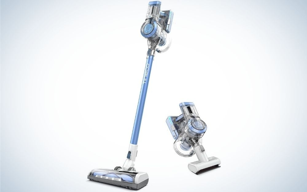 The Tineco A11 Hero Cordless Lightweight Stick Vacuum Cleaner is the best overall.