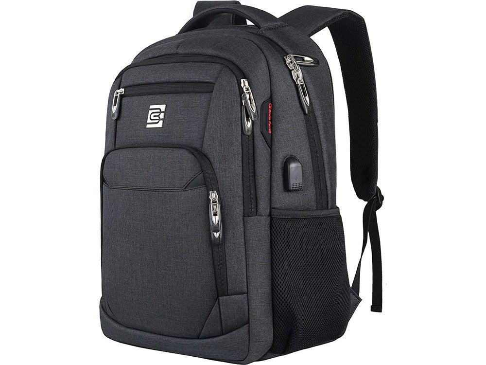 Travel Anti Theft Slim Durable Laptops Backpack with USB Charging Port
