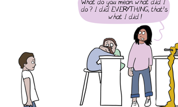 This Comic Perfectly Explains the Mental Load Working Mothers Bear