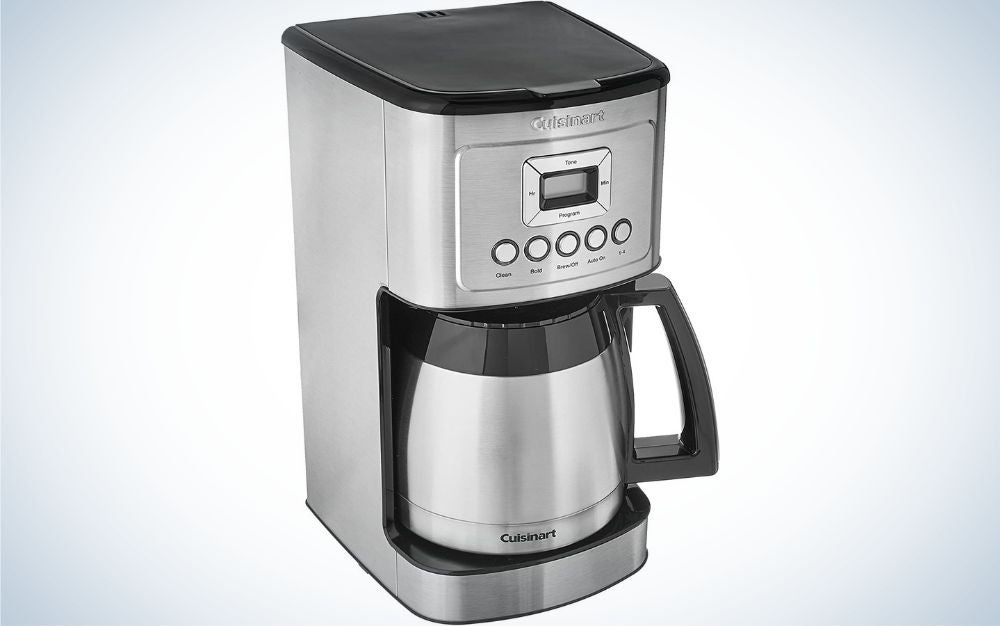 The Cuisinart Stainless Steel Thermal Coffeemaker is the best overall.