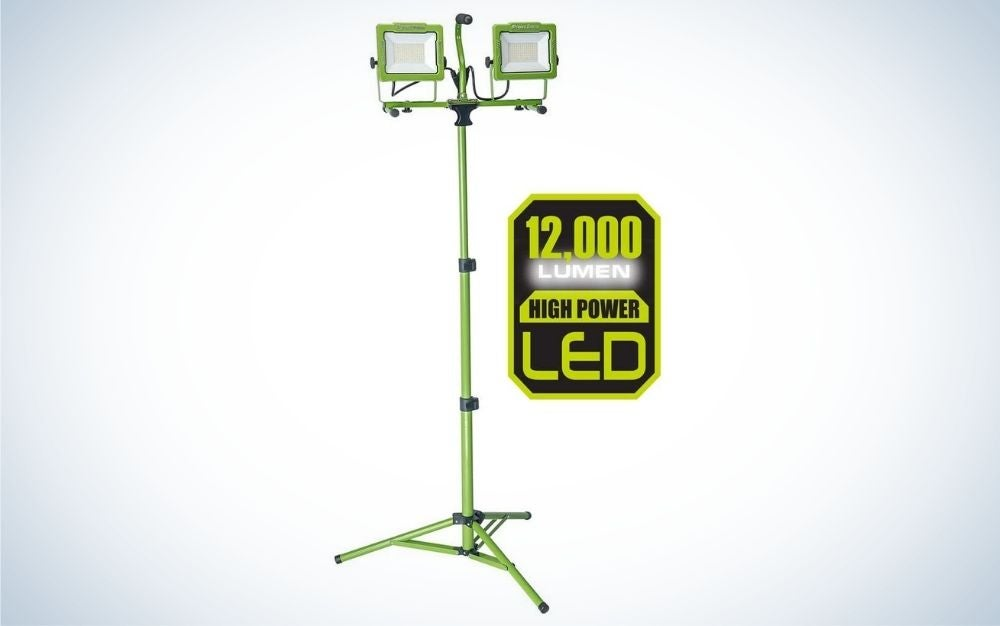 This PowerSmith LED is one of the best work lights overall.