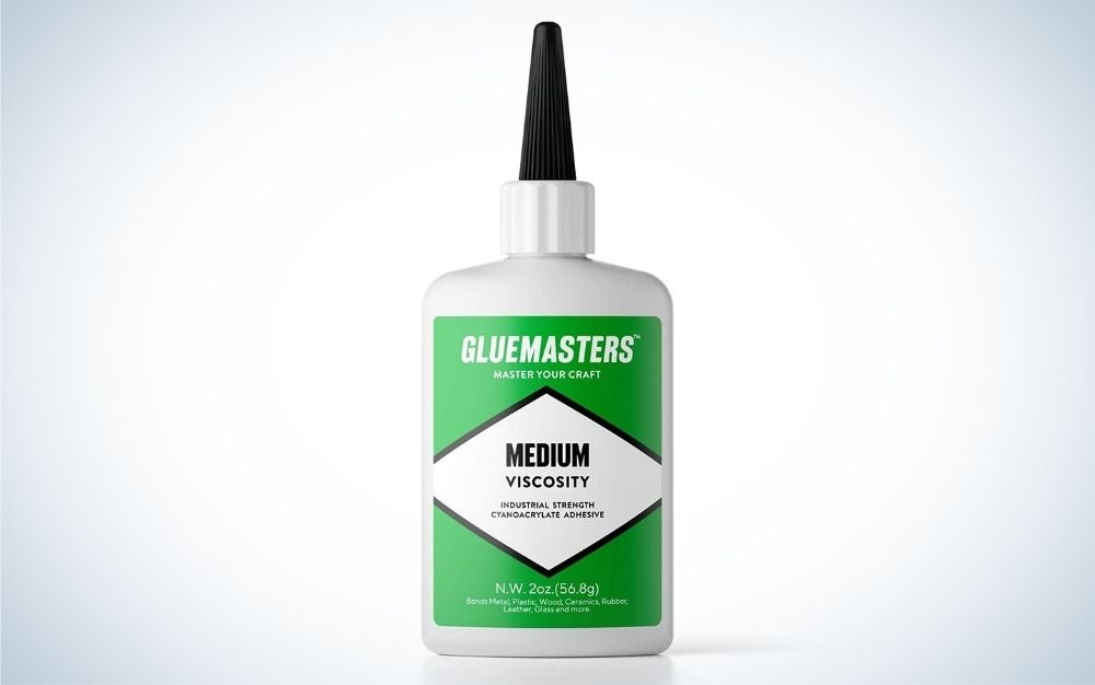 Super Glue by Glue Masters is the best for crafts.