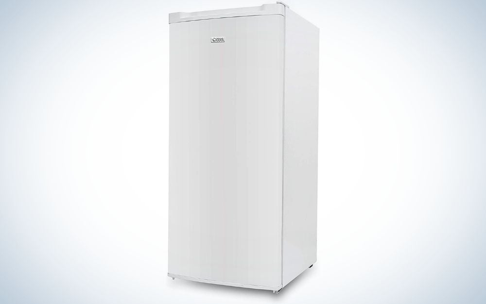 The Commercial Chef Upright Freezer is the best value.