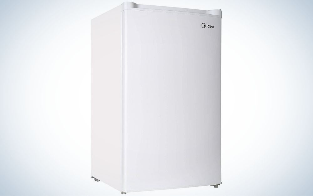The Midea Upright Freezer is the best overall.