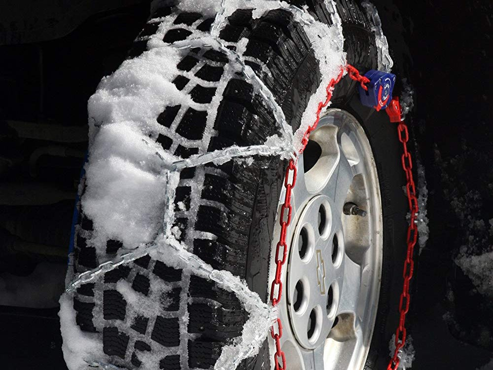 Tire chains for snowy weather