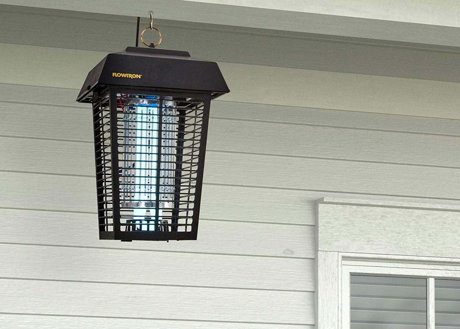 "The classic lantern-style, electronic bug assassinating machine affectionately known as the ""zapper"" has dispatched millions of insects since its inception."