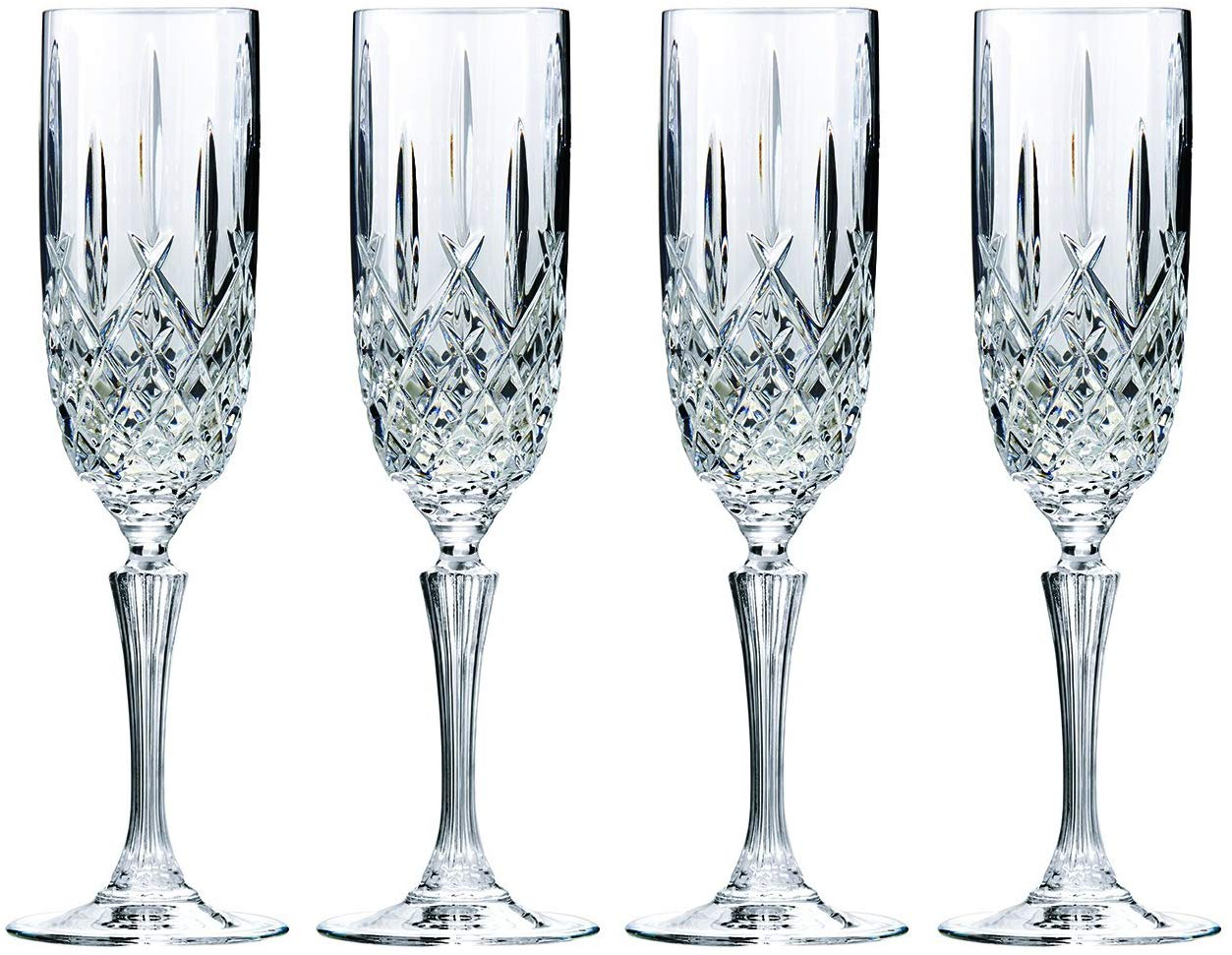 Waterford's Markham champagne flutes