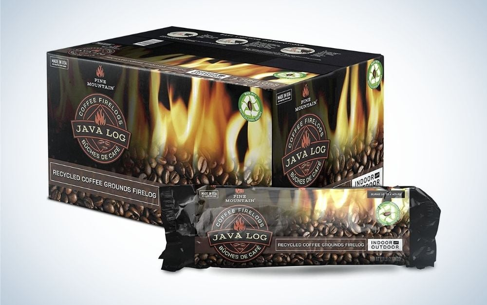 Pine Mountain Java Log is the best eco friendly fire log.