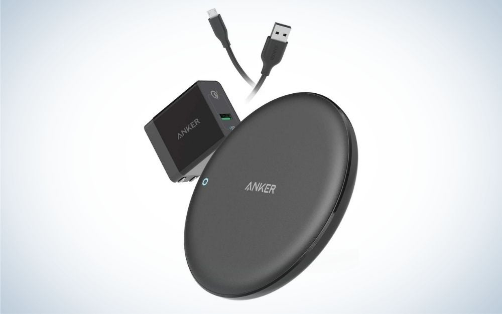 The Anker PowerWave 7.5 Pad is the best wireless iPhone charger.