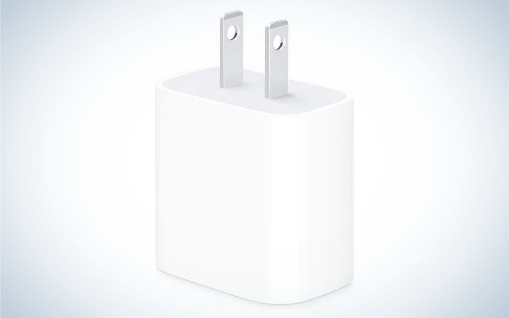 The Apple 20W USB-C Power Adapter is the best iPhone charger overall.