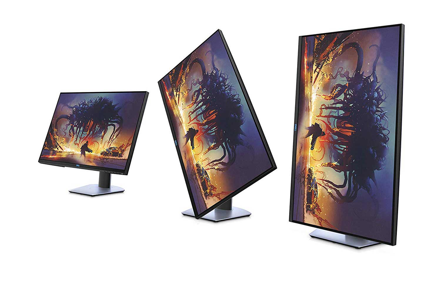 Dell rotating gaming monitor.