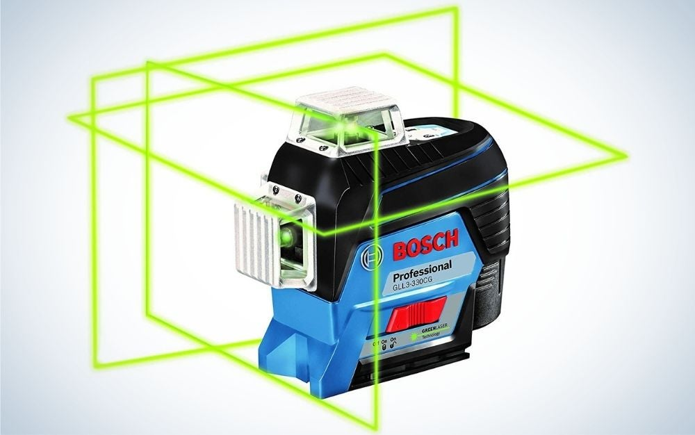 The Bosch Three-Plane Self-Leveling Laser Level is the best commercial use.