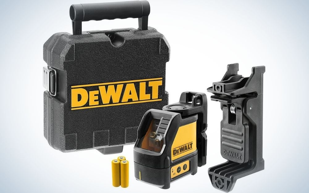 The Dewalt Line Laser Level is the best overall.