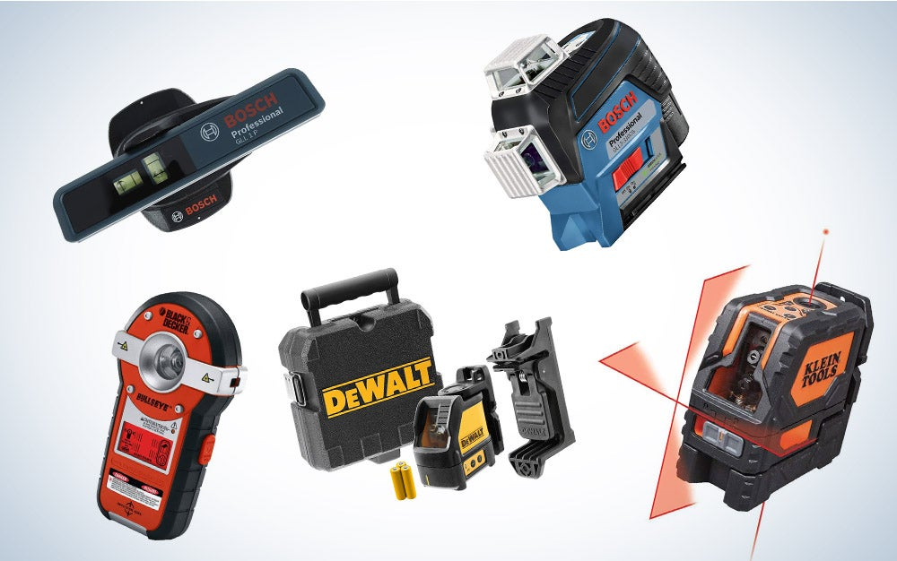 These are our picks for the best laser levels on Amazon.
