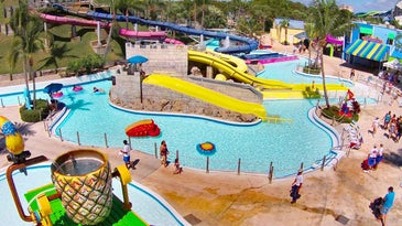 Rapids Water Park is South Florida's largest water park featuring 30-action packed acres of attractions including 35 of the biggest, wettest, most thrilling water slides.