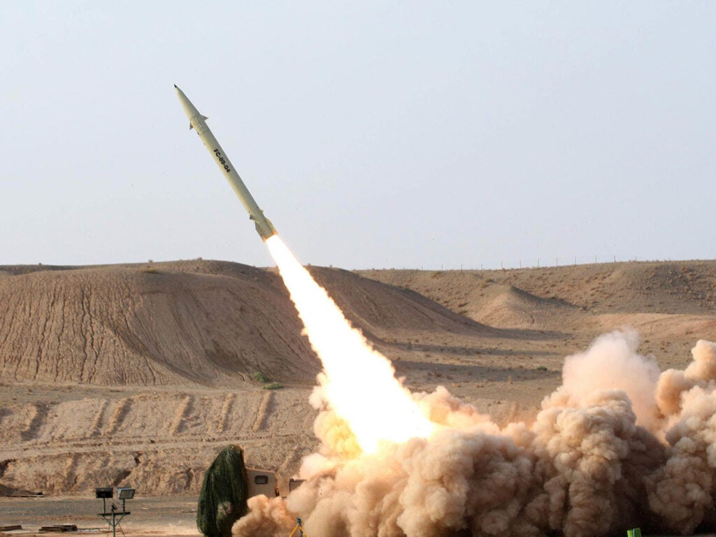 Fateh Surface-to-Surface Missile