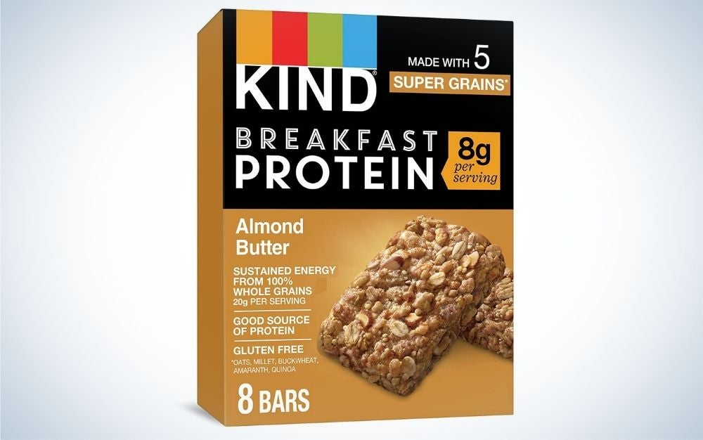 The Kind Breakfast Protein Bars are the best low-carb option.