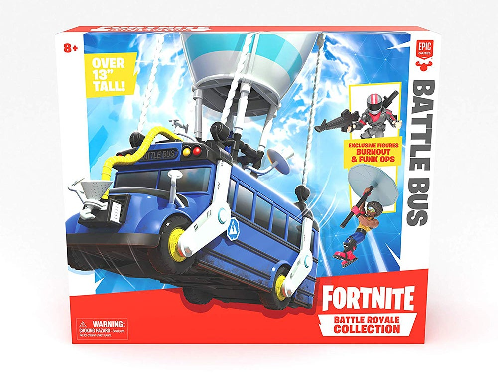 Fortnite Battle Bus Box