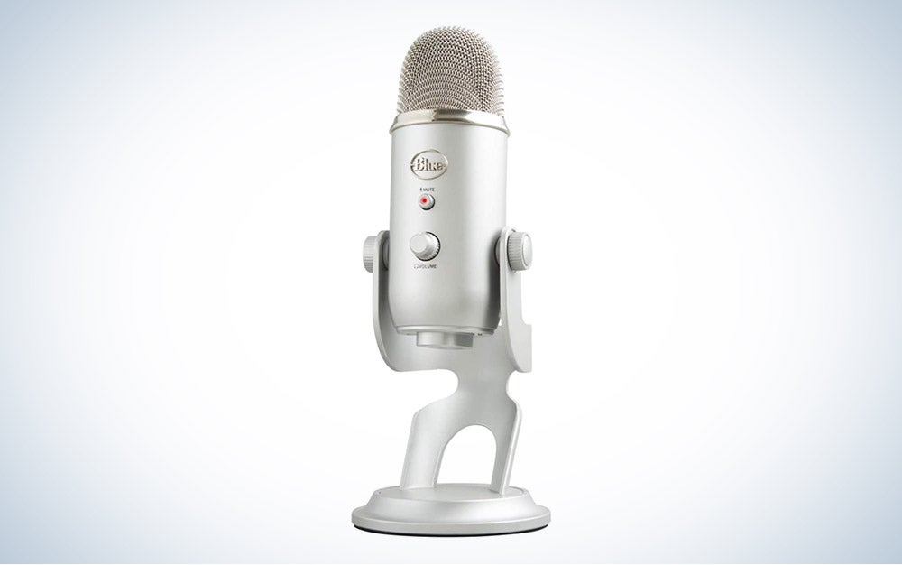 The Blue Yeti USB Mic for Recording & Streaming is the best value microphone for recording.