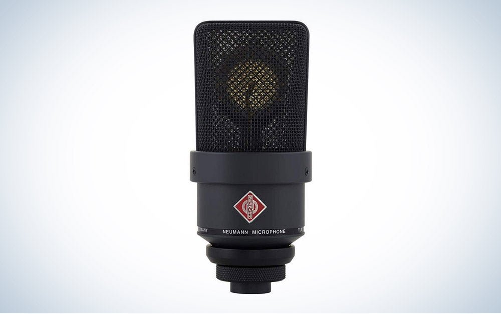 Neumann TLM 103-MT Large Diaphragm Cardioid Microphone is the best premium recording microphone.