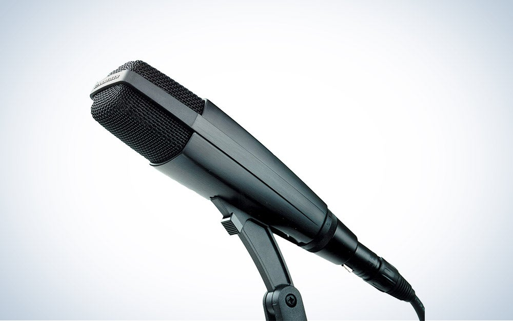 Sennheiser MD 421 II Cardioid Dynamic Mic is the best overall recording microphone.