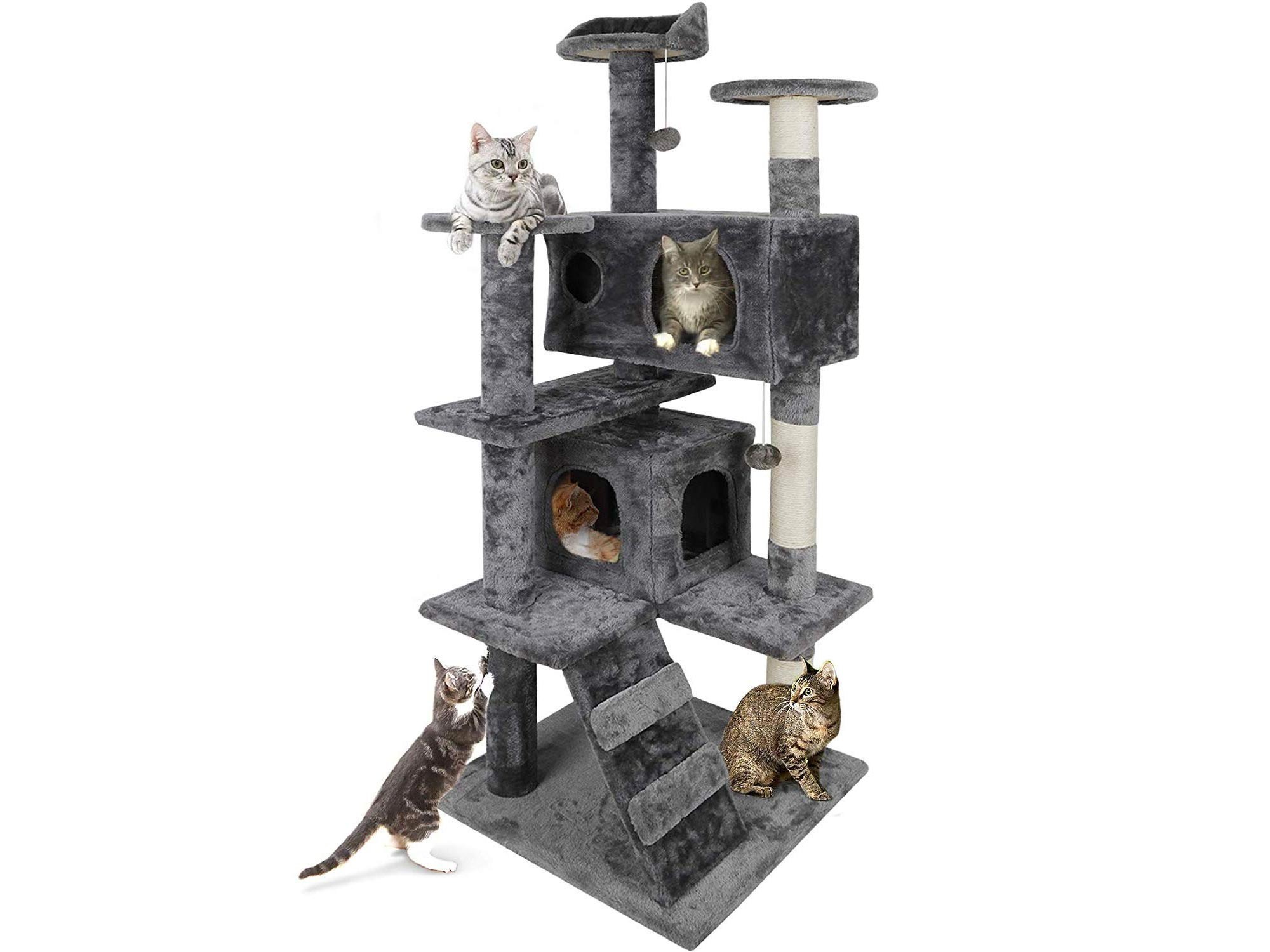 Multi-Level Cat Tree Stand House
