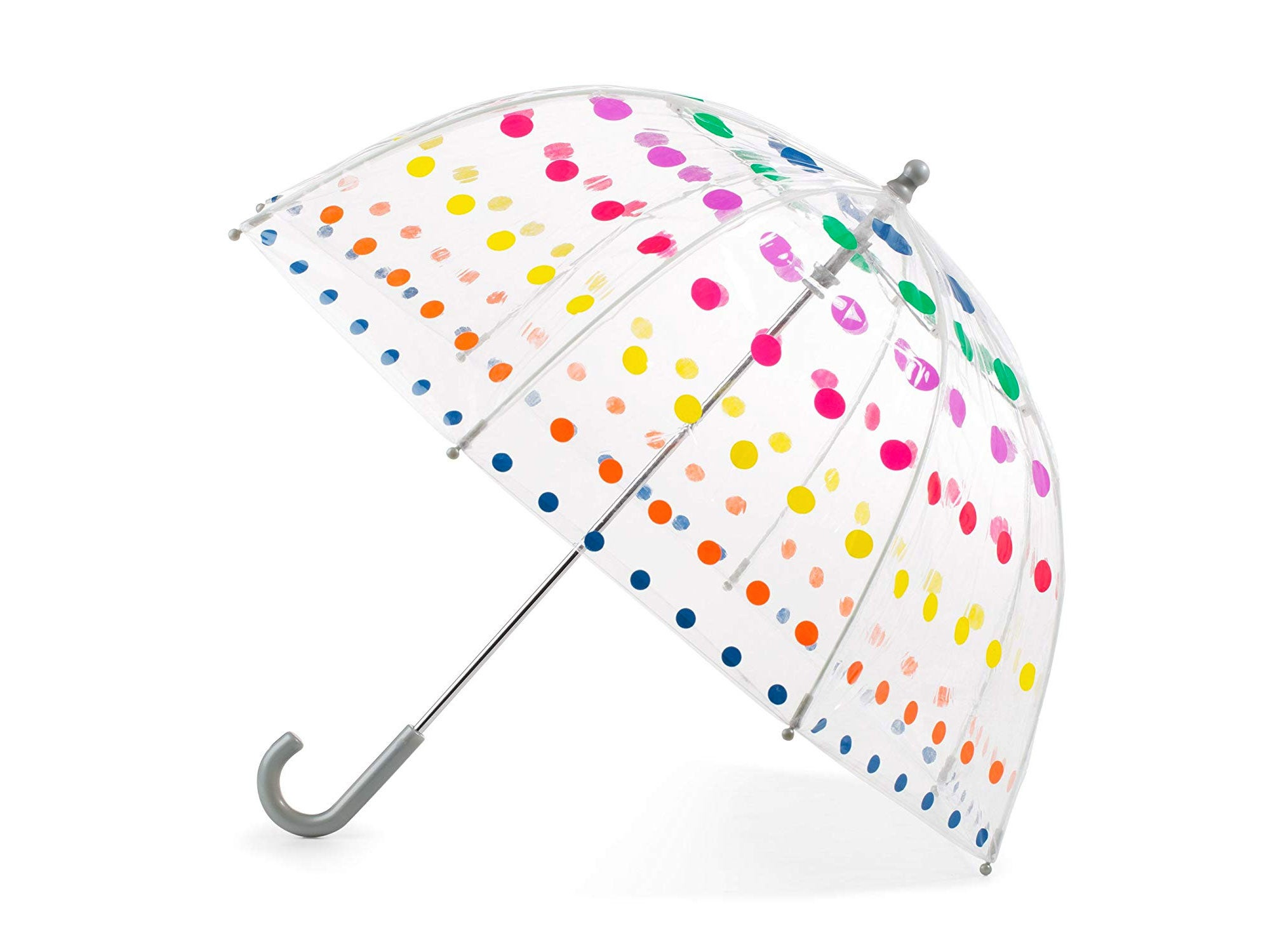 Child's polka dot umbrella