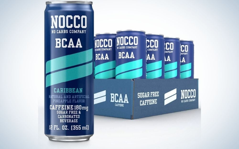 NOCCO BCAA Sugar-Free Energy Drink is the best for workouts.