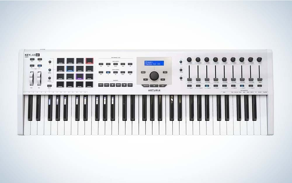 The Arturia KeyLab MKII 61 is the best for performance.