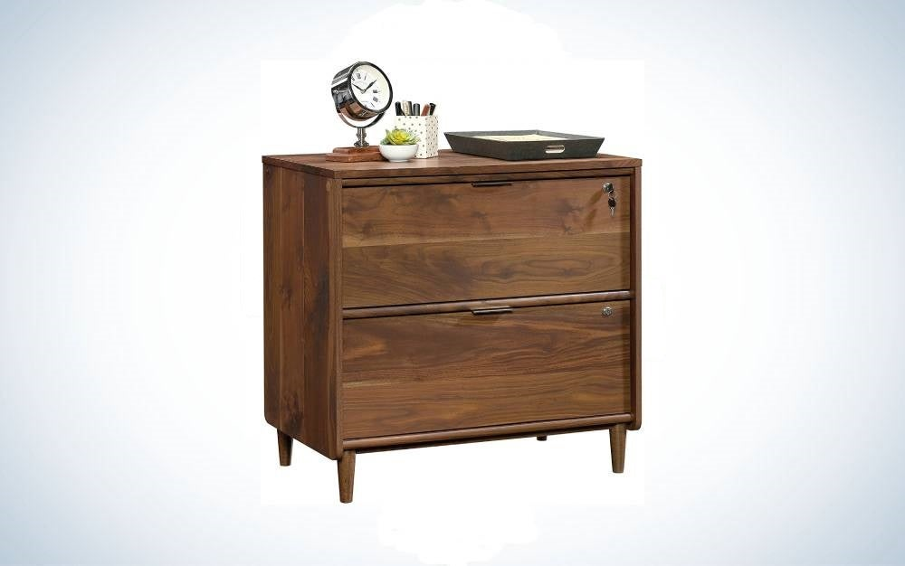 The Sauder Clifford Place Lateral File is one of the best file cabinets and most stylish.