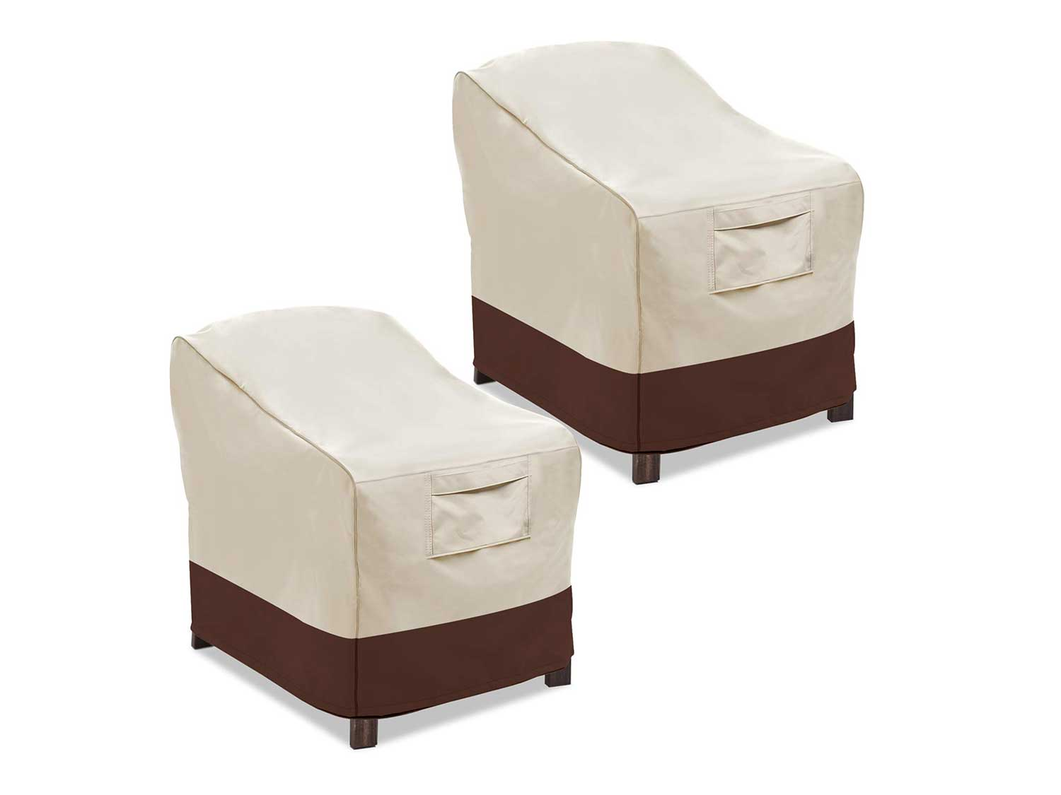 Vailge Patio Chair Covers, Lounge Deep Seat Cover, Heavy Duty and Waterproof Outdoor Lawn Patio Furniture Covers