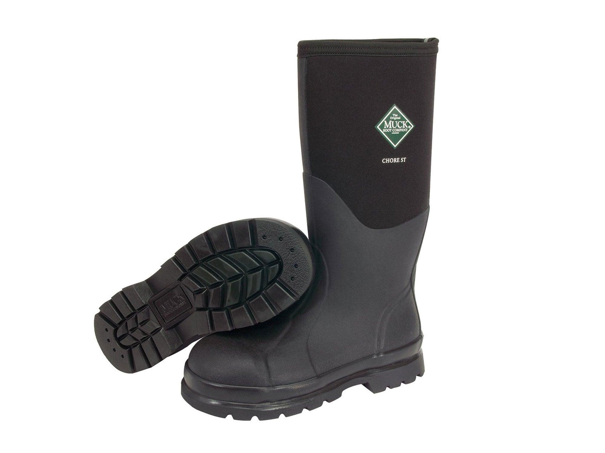 Muck Boots Chore Classic Tall Steel Toe Men's Rubber Work Boot