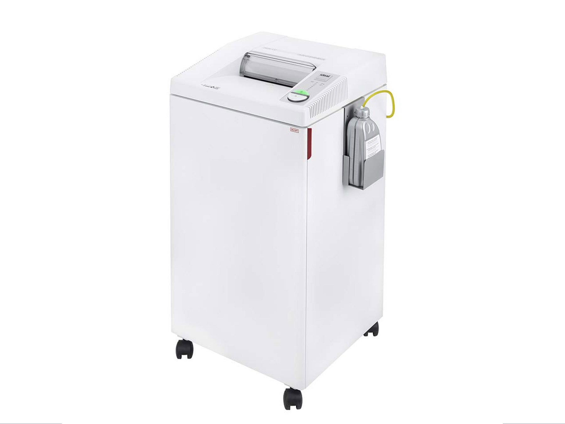 Cross-Cut Centralized Office Shredder with Automatic Oiler