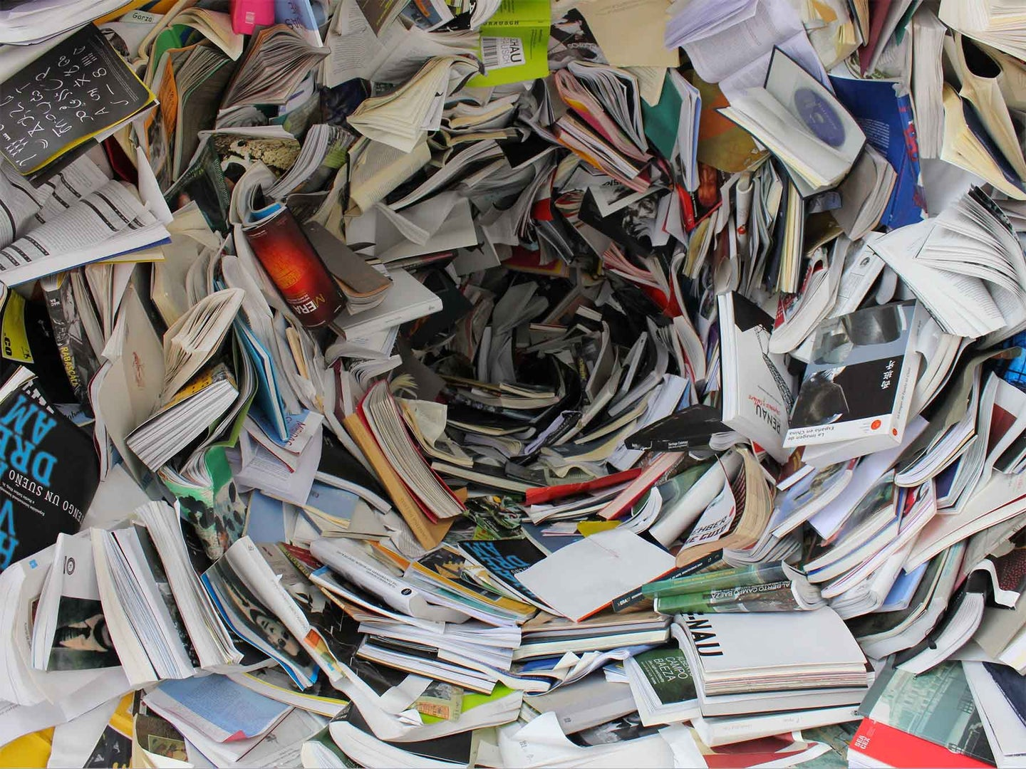Stacks and stacks of papers