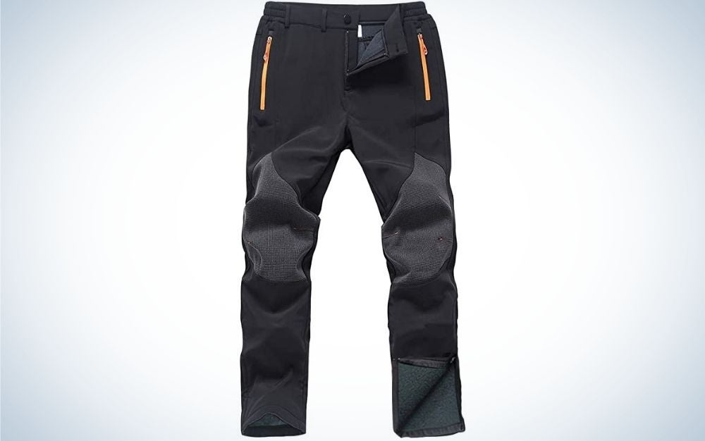 Gash Hao Mens Snow Ski Waterproof Softshell Snowboard Pants are the best value.