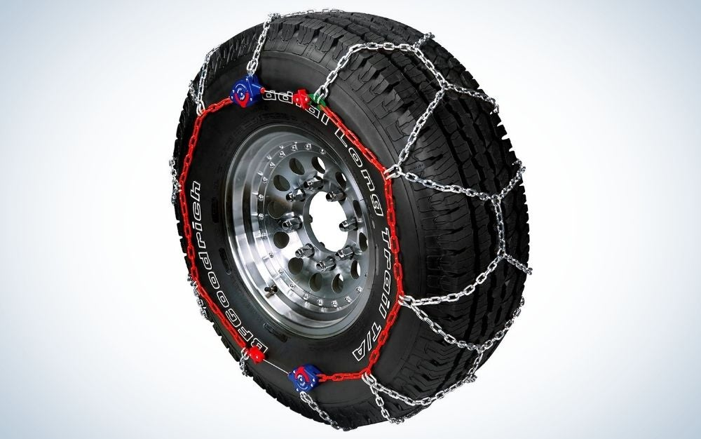 The Peerless Auto-Trac Tire Traction Chain is the best overall tire chain.