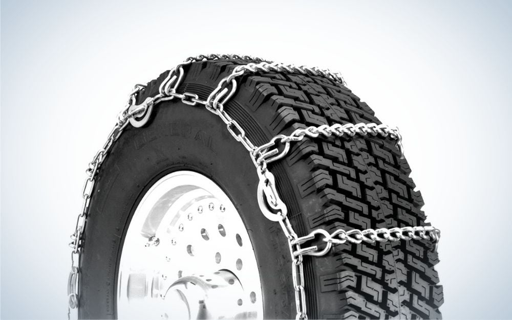 The Security Chain Company Quik Grip is the best tire chain for trucks.