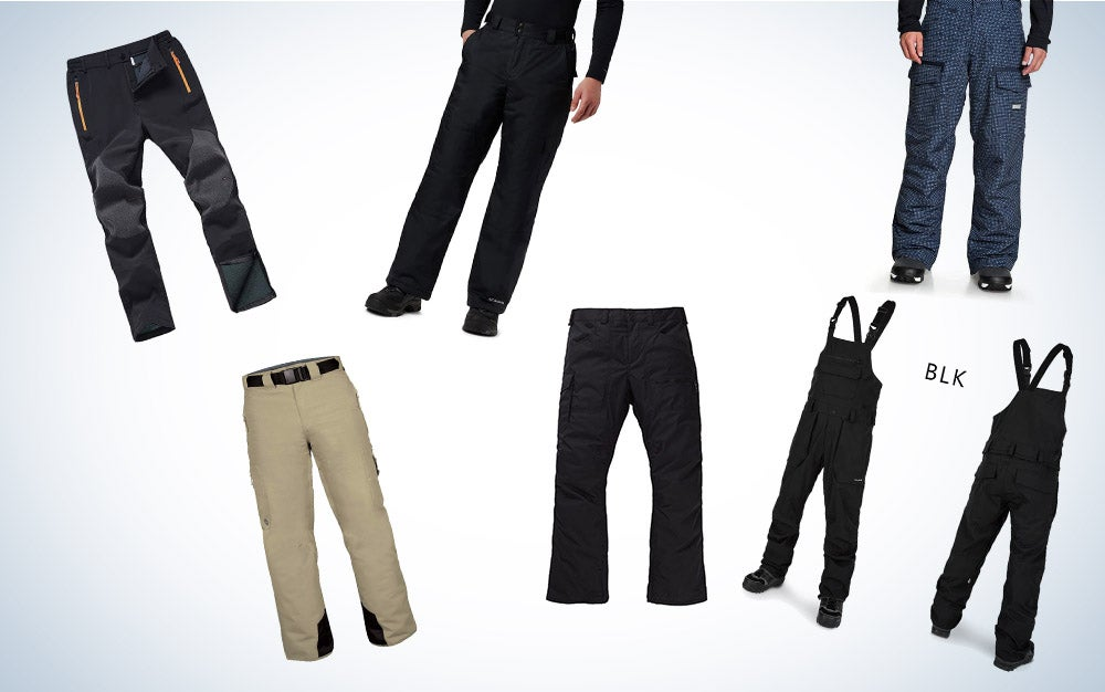 These are our picks for the best snowboarding pants on Amazon.
