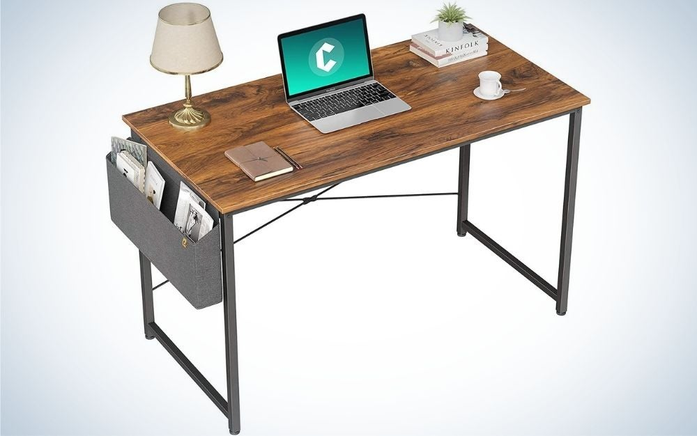 The Cubiker Computer Desk is the best value desk we found.