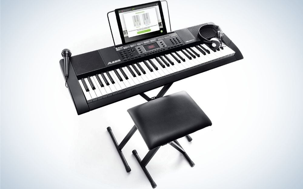 The Alesis Melody 61 is best for beginners.