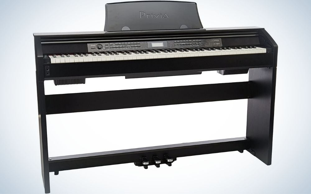 The Casio PX-780 Privia is the best electric piano for songwriters and teachers.