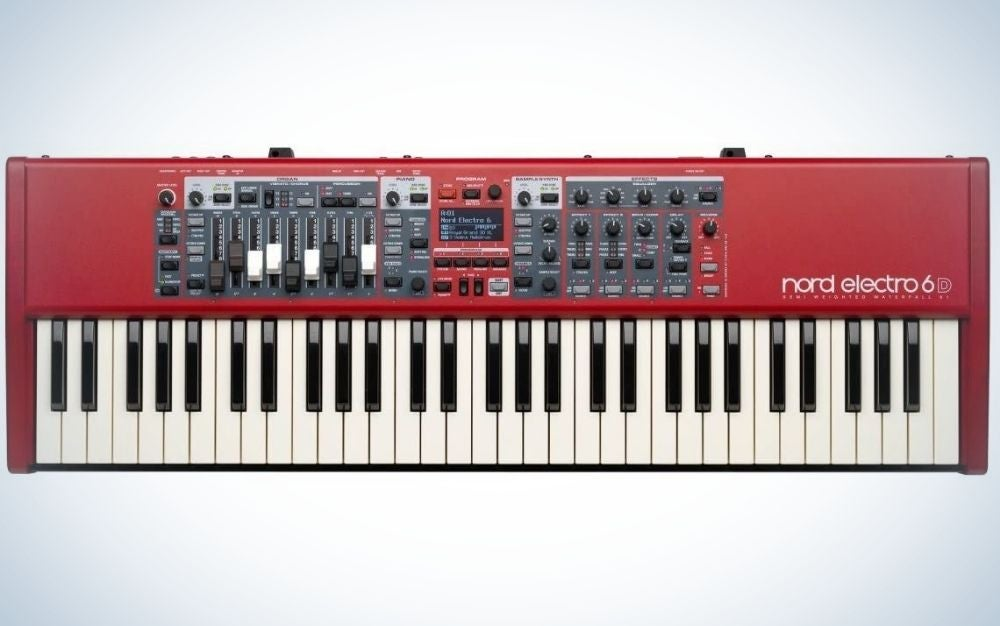 The Nord Electro 6D 61 is the best piano for stage.