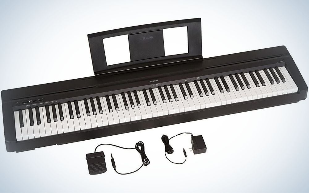 The Yamaha P71 is the best value.