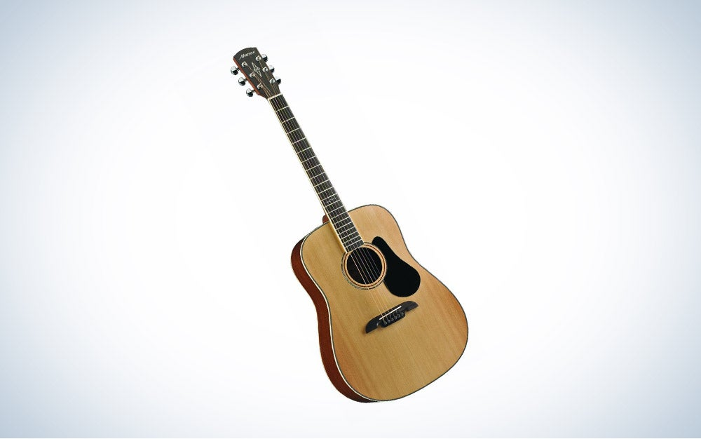 Alvarez AD60 Dreadnought Guitar is best overall.